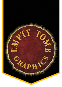 Empty Tomb Graphics Print Design