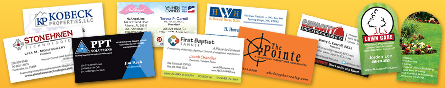 Empty Tomb Graphics Business Card Design and Printing